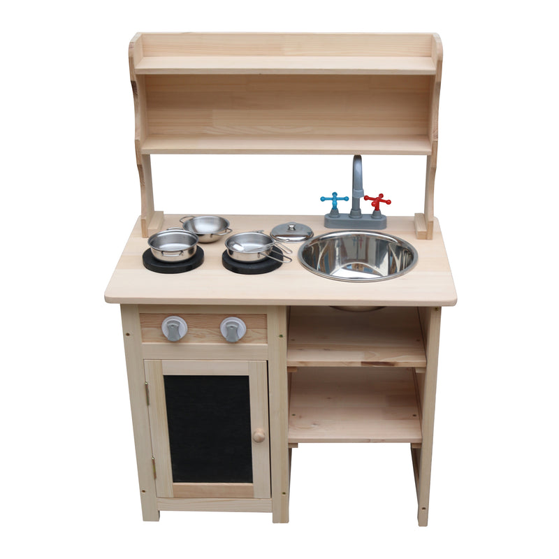 Pretend Play Mud Kitchen