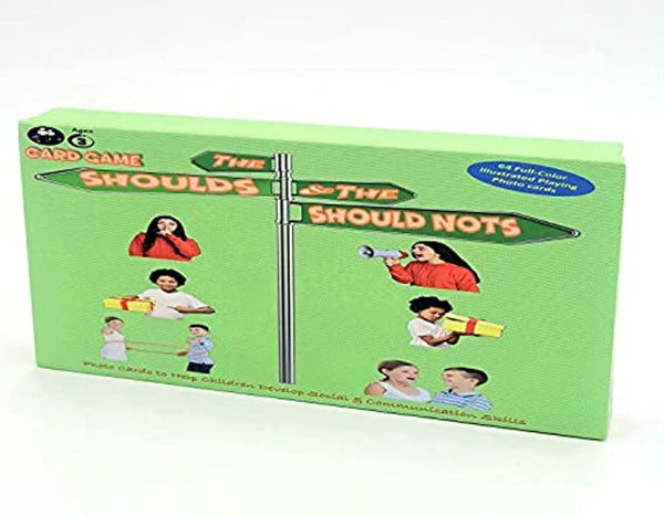 The Shoulds and Should Nots Card Game to Help Kids Develop Social & Communicatio