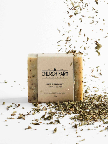 Church_Farm_Natural_Soaps_Peppermint_With_Hemp_Seed_Oil