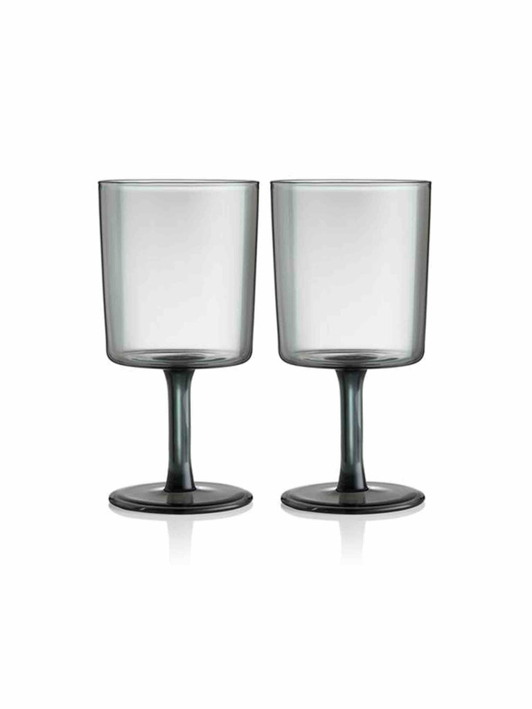 Maison_Balzac_Set_Of_Two_Wine_Glasses_Smoke_Grey