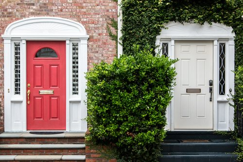 Making A Statement With Your Front Door: Lipstick For Your House