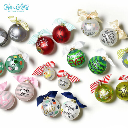 ORNAMENTS FOR THE BIG MOMENTS IN LIFE