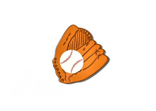 Happy Everything Baseball Glove Attachment