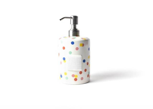 Happy Everything Bright Dot Mini Cylinder Soap Pump
