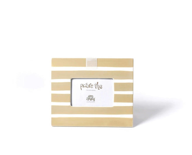Neutral Stripe Mini Frame by Happy Everything!
