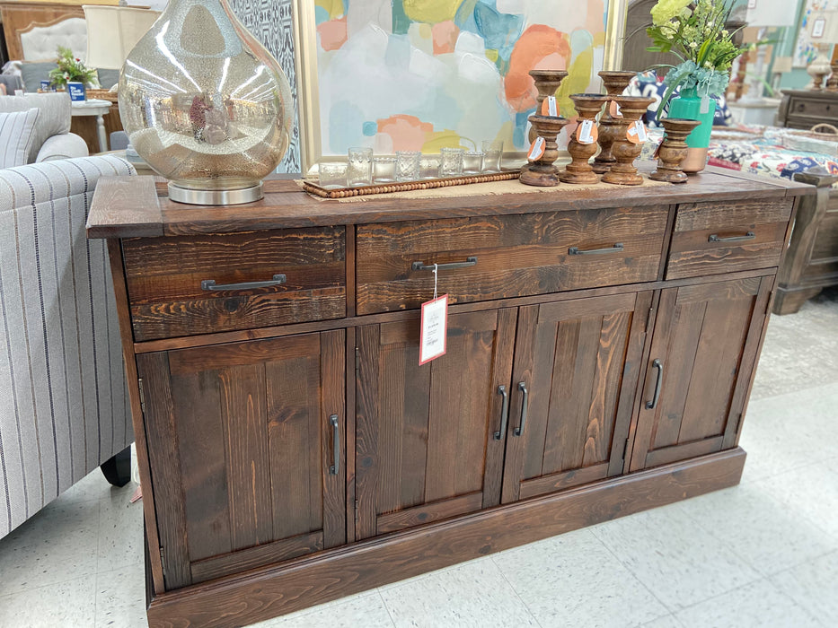 Brooks Furniture Dining Room Side Board 8566 Salvage Brown