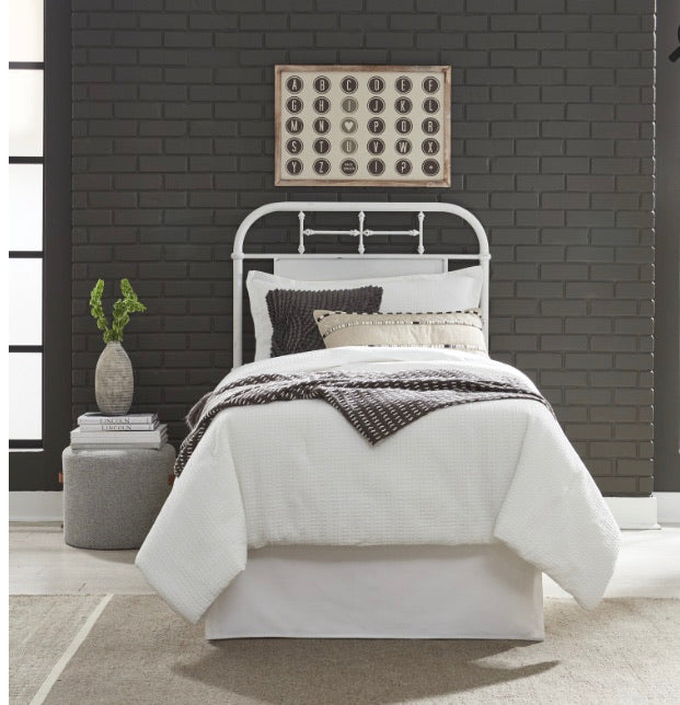 Twin Size Metal Headboard by Liberty Furniture (3 color options)