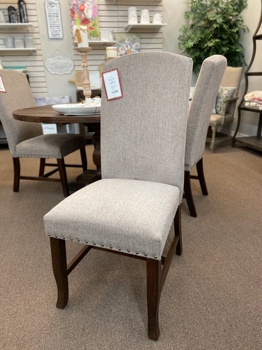 Parsons Chair in Casino Shimmer Fabric by Brooks Furniture