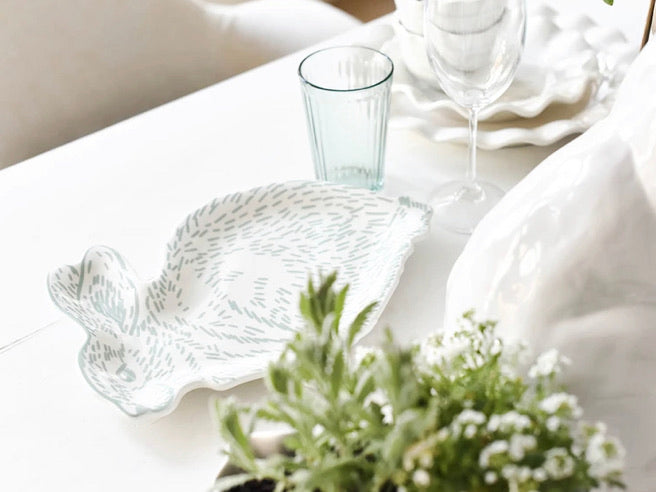 Speckled Rabbit Platter by Coton Colors