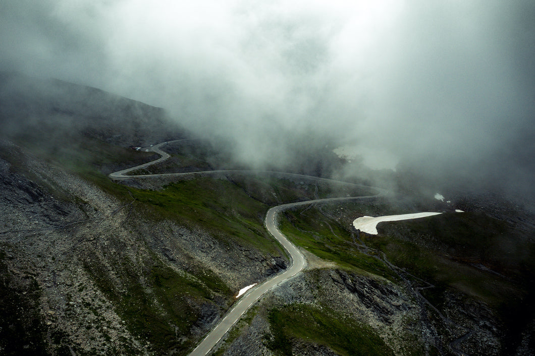 Col Agnel - Cloud blanket