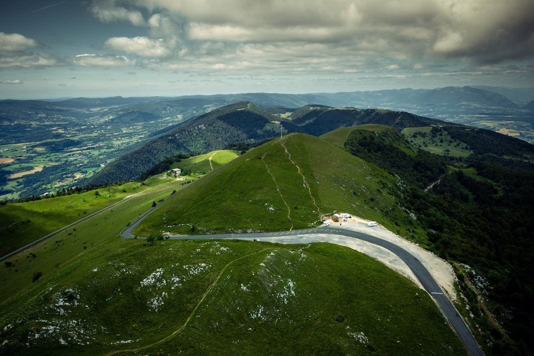 Grand Colombier - The col.