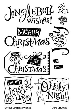 Jinglebell Wishes Stamp Set