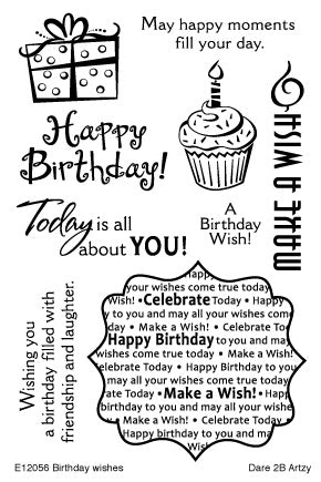 Birthday Wishes Stamp Set