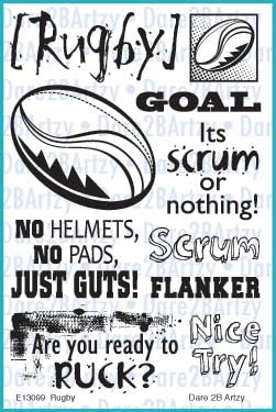 Rugby Stamp Set