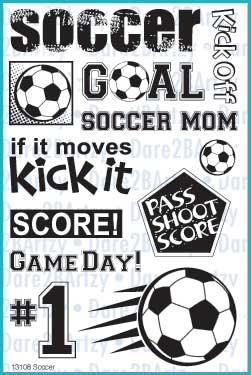 Soccer Stamp Set