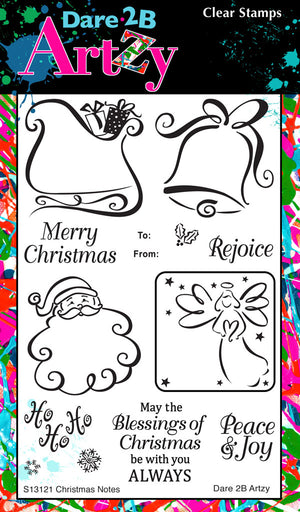 Christmas Notes Stamp Set