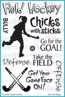 Field Hockey Stamp Set