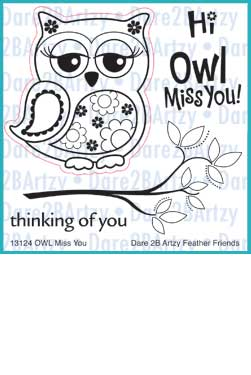 Owl Miss You Stamp Set