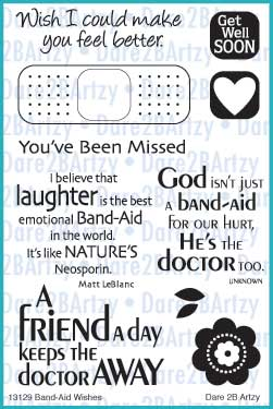 Band-Aid Wishes Stamp Set