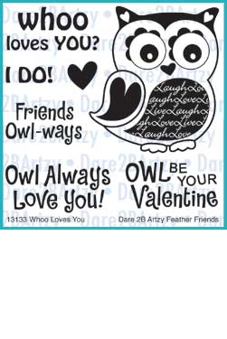 Whoo Loves You Stamp Set