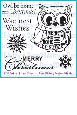 Owl be Home 4 Xmas Stamp Set