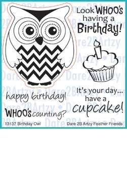 Birthday Owl Stamp Set