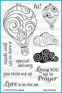 Hot Air Balloon Stamp Set