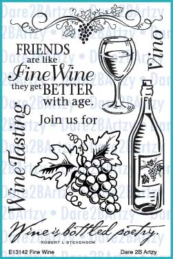 Fine Wine Stamp Set