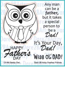 Daddy Owl Stamp Set