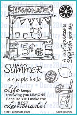 Lemonade Stand Stamp Set