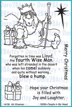 4th Wise Man Clear Stamp