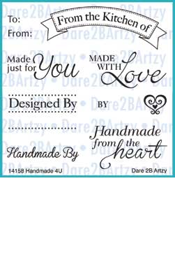 Handmade for You Stamp Set