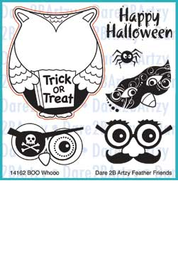 Boo Whoo Owl Stamp Set