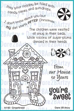 Gingerbread House Stamp Set