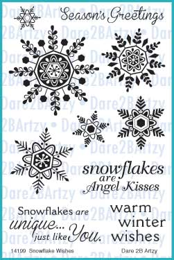 Snowflake Wishes Stamp Set