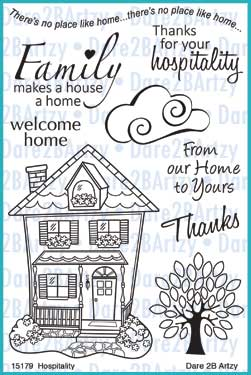 Hospitality House Stamp Set