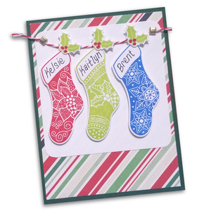 Family Stocking Stamp Set