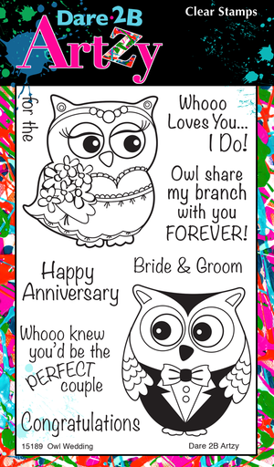 Wedding Owls Stamp Set