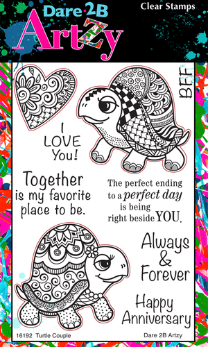 Turtle Couple Stamp Set