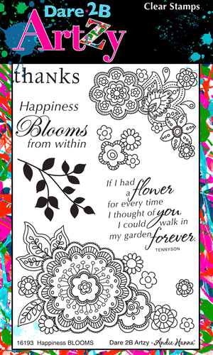 Happiness Blooms Stamp Set