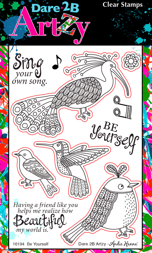 Be Yourself Stamp Set