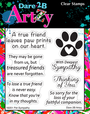 Pet Sympathy Stamp Set