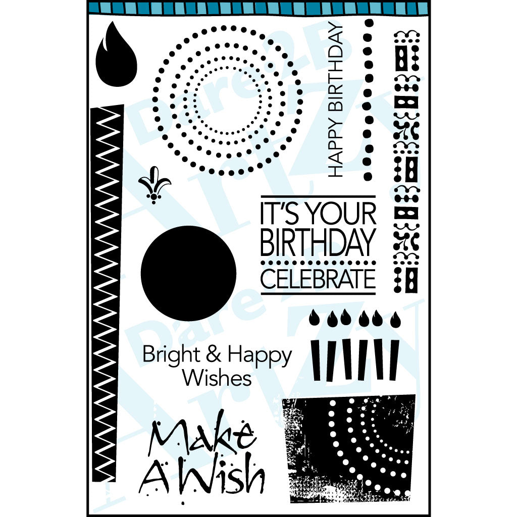 Bright Birthday Stamp Set