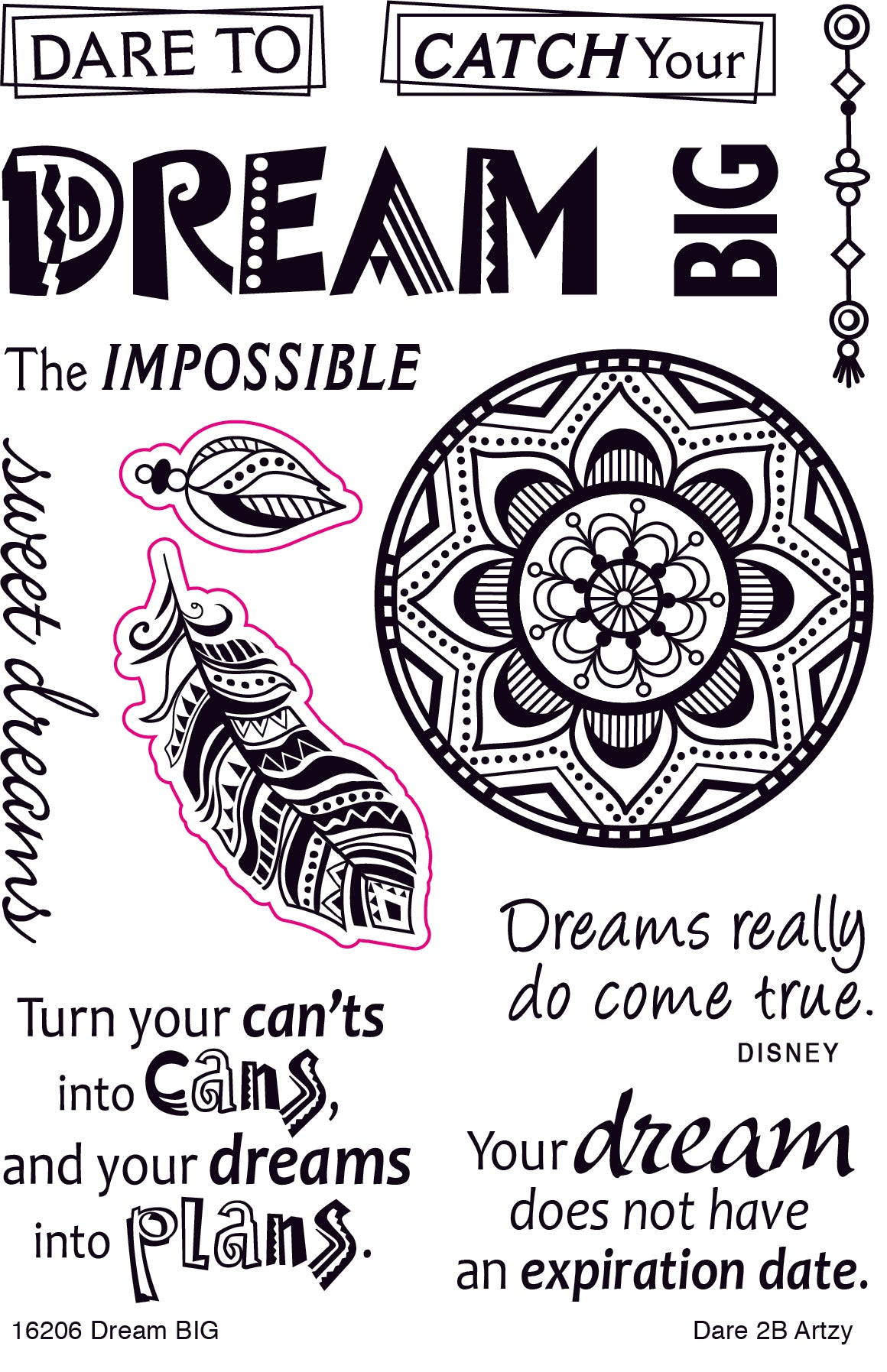 Dream Big Stamp Set