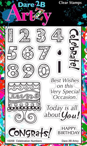 Celebration Numbers Stamp Set