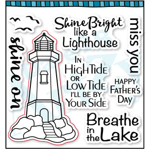 Shine On Lighthouse Stamp Set