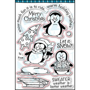 Penguin Fun Stamp Set