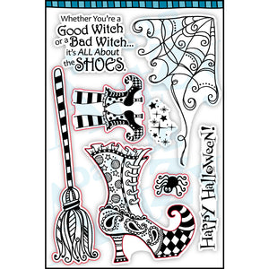 Witches Shoes Stamp Set