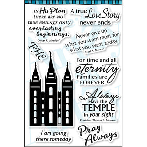 LDS Temple Stamp Set