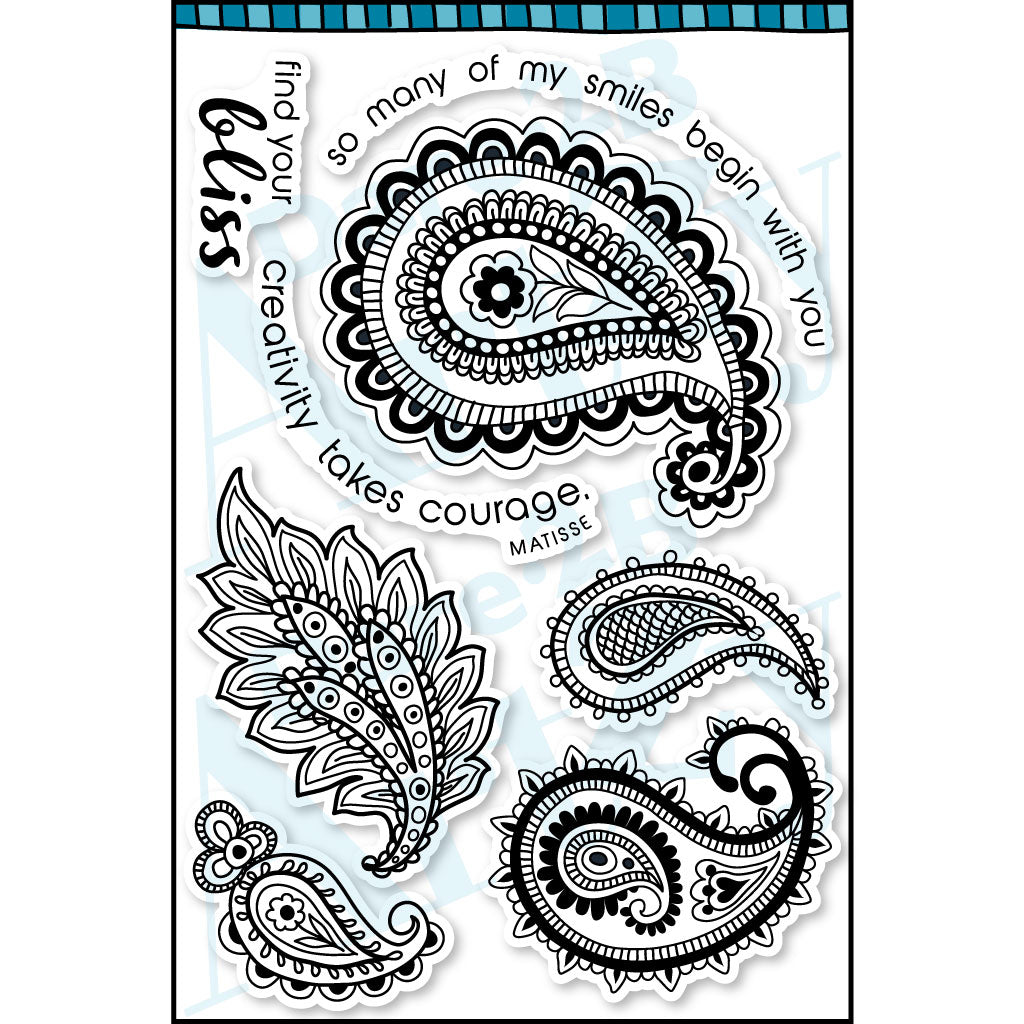 Paisley Bliss Stamp Set